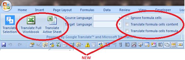 English To Italian Translator Google: Technitya's Excel® Addins